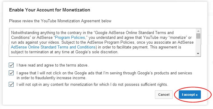 Enable monetization